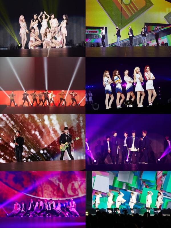 'SMTOWN LIVE' 日 오사카 쿄세라돔 9만 관객 열광!
