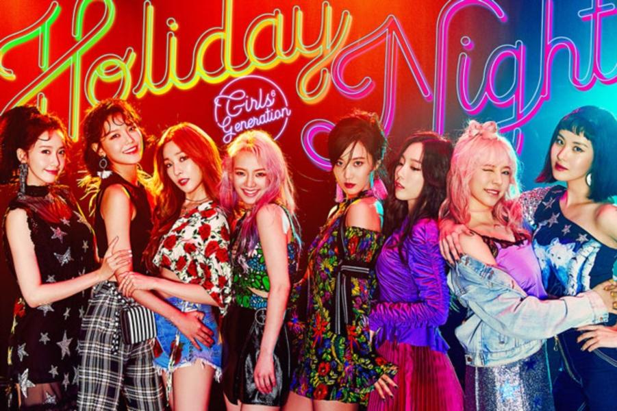역시 소녀시대! 정규 6집 'Holiday Night', 美 빌보드 월드 앨범 차트 1위!