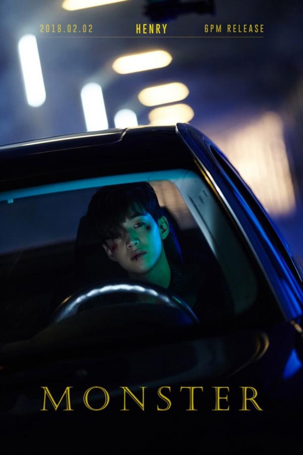'만능 뮤지션' 헨리, 2월 2일 오후 6시 자작곡 'Monster' 기습 발표!