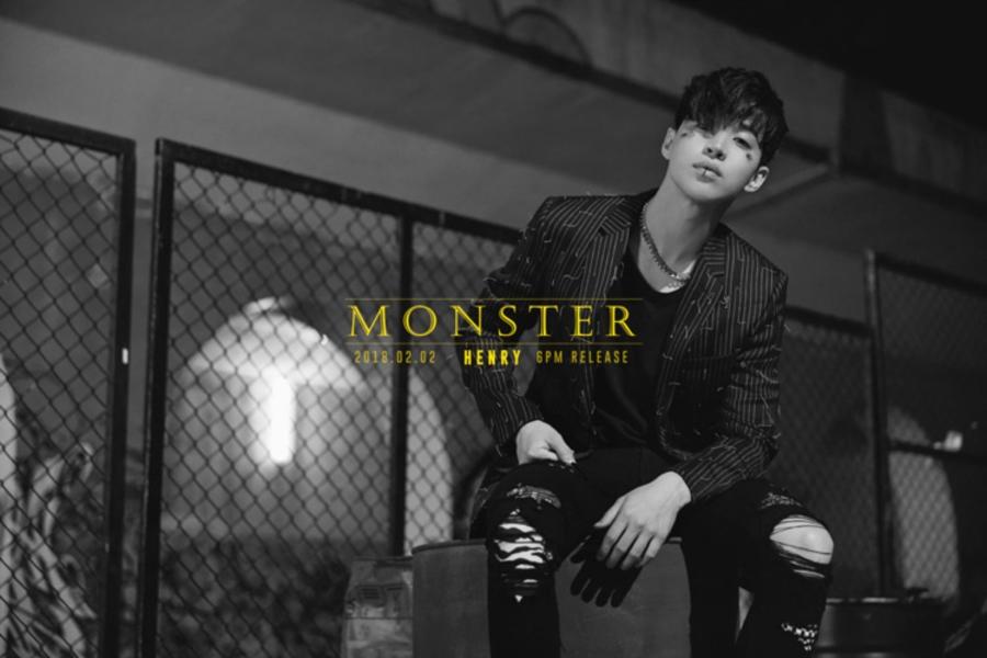 헨리 자작곡 'Monster' 뮤직비디오 티저 영상, 공개!
