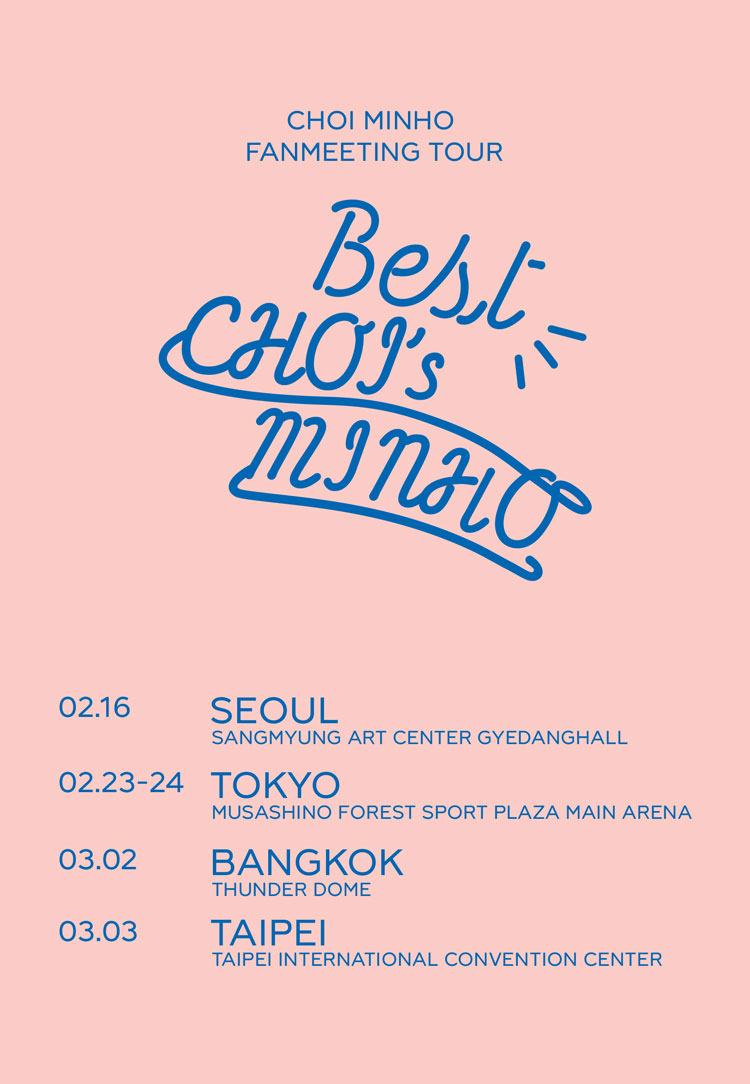 CHOI MINHO SHINEE FANMEETING TOUR Best CHOI/'s MINHO WOMEN T-SHIRT MEN TEE TOPS